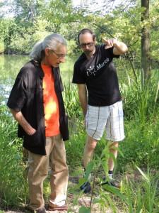 Tom with Gordon Ligocki