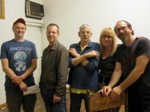 Nick, Marty, Jno, Linda & Tom
