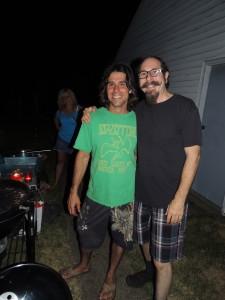 Tom with his good friend, Freddy G