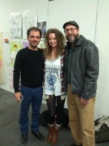 Pedro Velez, Robin Dluzen & Tom