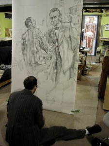 Studio Shot - Drawing